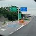 Motorway 7 on the way to Bangkok cengter