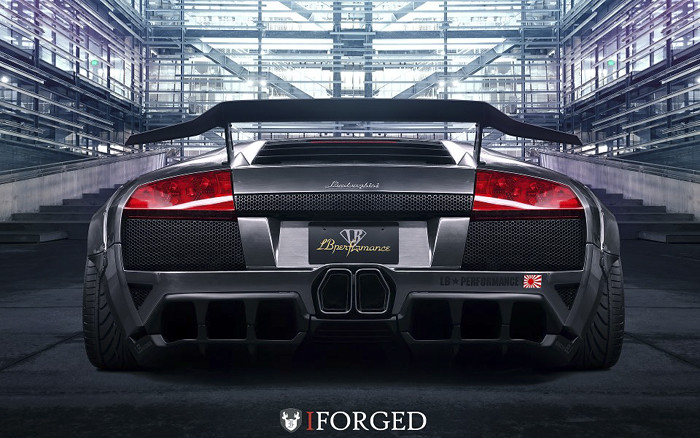 IForged Wheels featured on LB Performance Lamborghini