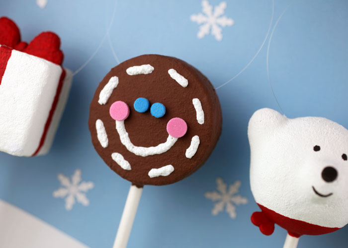 Gingerbread Cake Pop Ornament