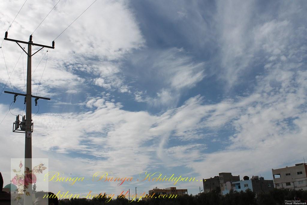 Subhanallah!Cantiknya awan.