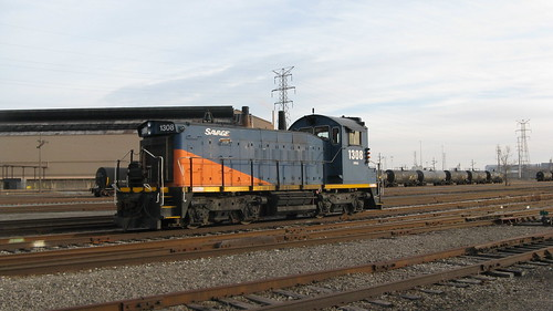 Savage Quality Rail Services.  Hammond Indiana.  Sunday, November 25th, 2012. by Eddie from Chicago