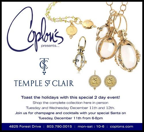 Temple St Clair at Coplon's.