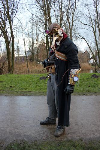 Steampunk gentleman, Venetian style