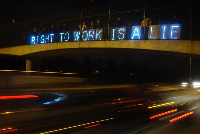 OLB-Right to Work is a Lie