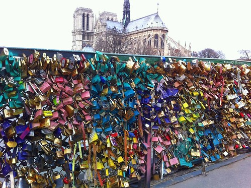 Love's Lockets Lost by Paris Set Me Free