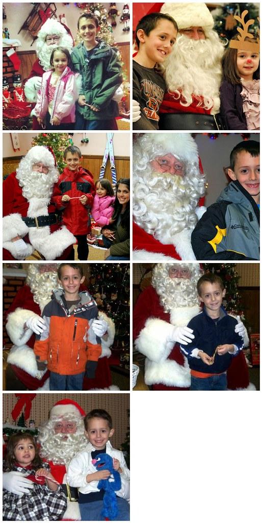 Santa Visits 2005-2012