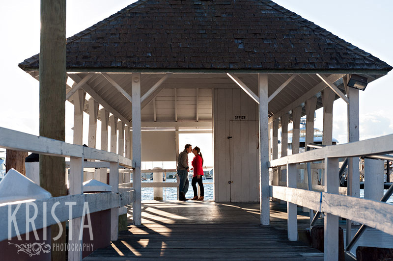 Newport engagement shoot