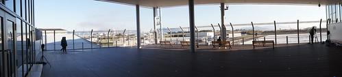 岩国錦帯橋空港 展望デッキ パノラマ画像