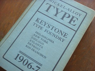 Keystone Type Foundry type specimen book