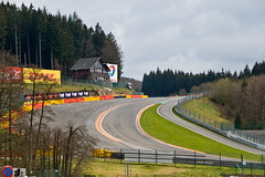 Circuit de Spa Francorchamps - Raidillon de l'Eau Rouge