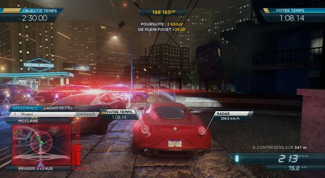 Need for Speed : Most Wanted - Screenshot 3