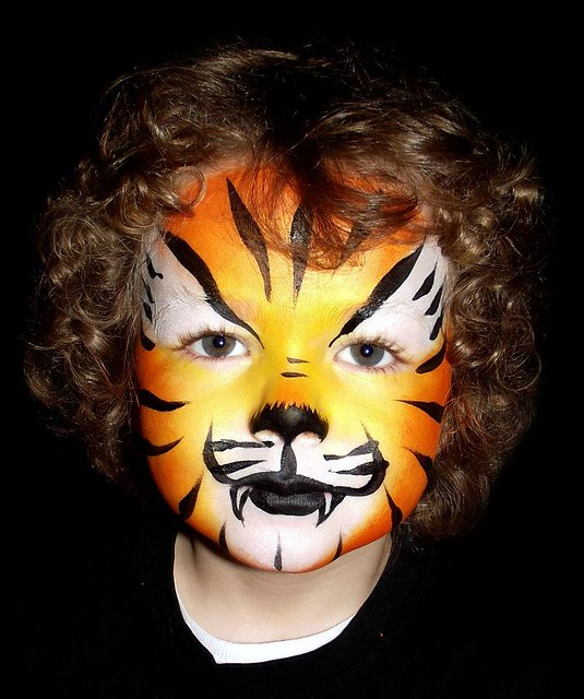 Tiger Face Painting | Flickr - Photo Sharing!