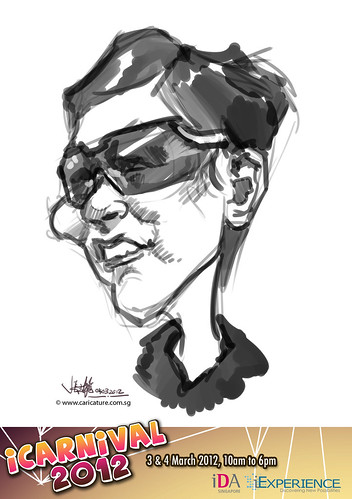digital live caricature for iCarnival 2012  (IDA) - Day 2 - 29