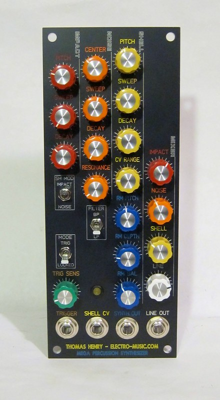Thomas Henry Mega Percussion Synthesizer front