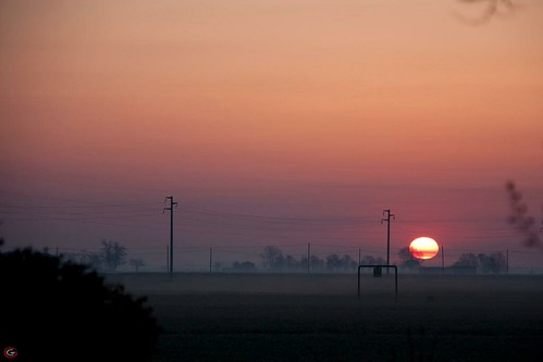 Alba sulla campagna Filese!!! by meteomike