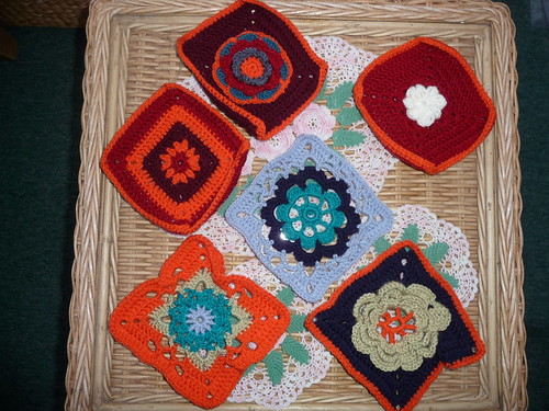 Linda's Daughter in Law 'Charlotte' sent these Squares for our Stash. Thank you!