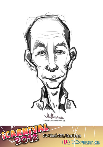 digital live caricature for iCarnival 2012  (IDA) - Day 1 - 33