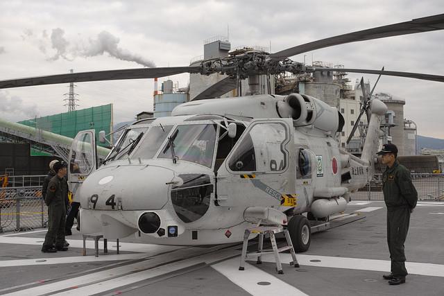 SH-60J - 護衛艦さわゆき