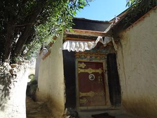 Portas Tibetanas em Shigatse Tibete