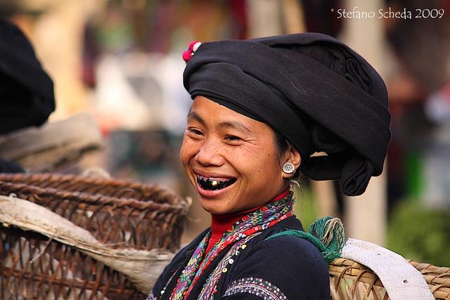 Black Tai woman - Lai Châu, Vietnam