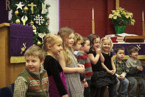 Preschool Christmas Program 2012