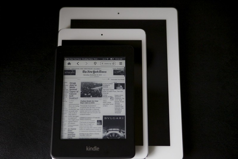 2012-12-23 iPad, iPad mini & Kindle Paperwhite