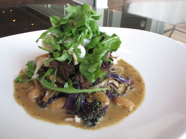 Blue Morel Salad