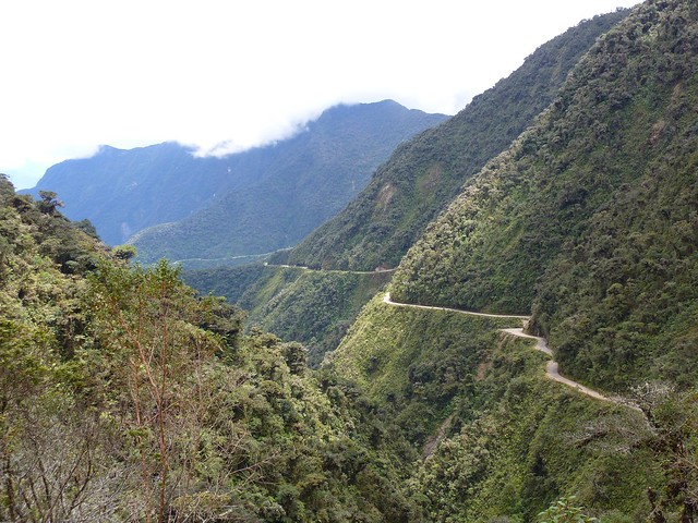 The north yungas road aka the world s most dangerous ro flickr
