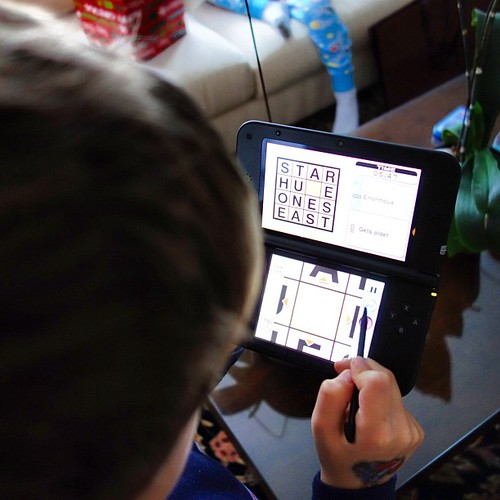 Hey Nintendo! We love playing crosswords on the 3DS XL. Thank you! #nintendoenthused by Everyday Treats (@Miguelina)