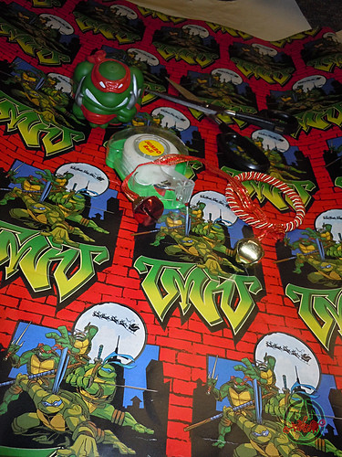 "xx :: ""Teenage Mutant Ninja Turtles"" - Holiday Gift Wrap i  (( 2004 ))"