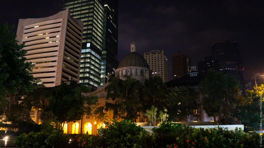 Вокруг станции Central в Гонконге