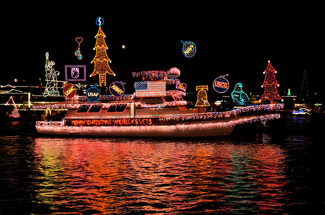 Newport Beach Christmas Boat Parade 2012