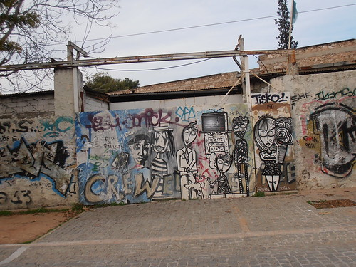 Athens: Graffiti at Thisio