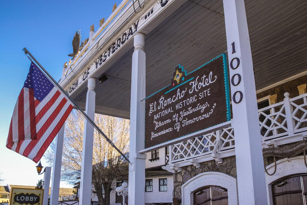 El Rancho Hotel Gallup NM