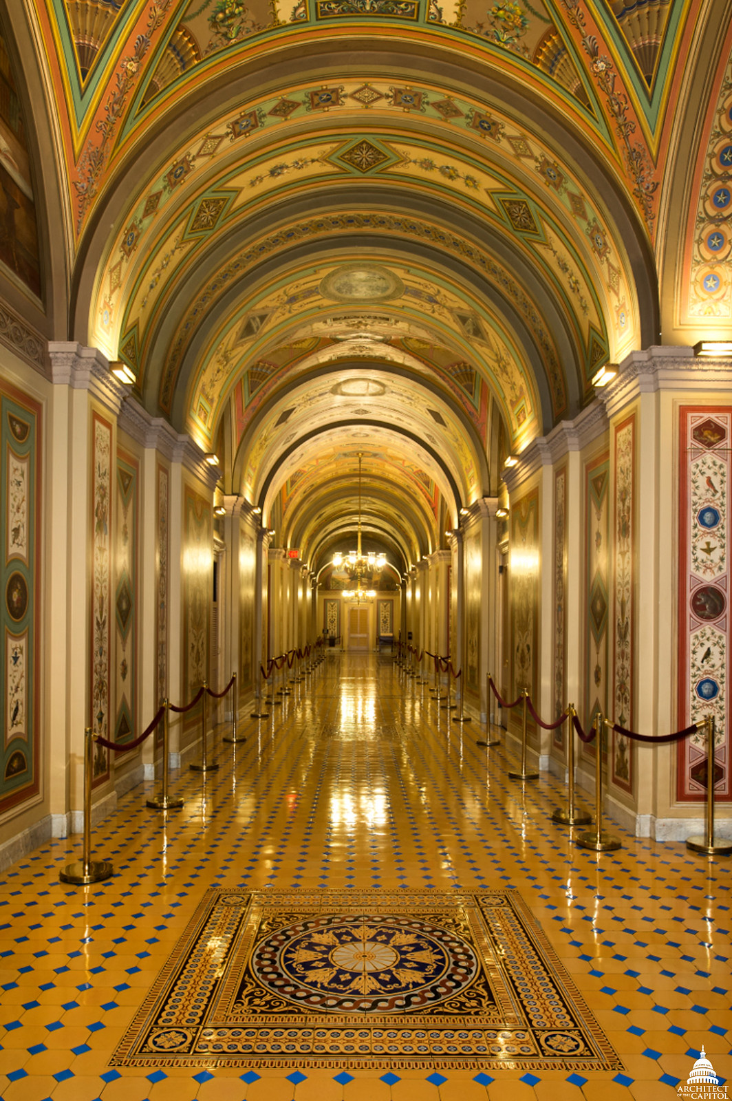 brumidi corridors architect of the capitol united states capitol