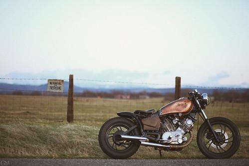 xv750 bobber by Garrett Meyers