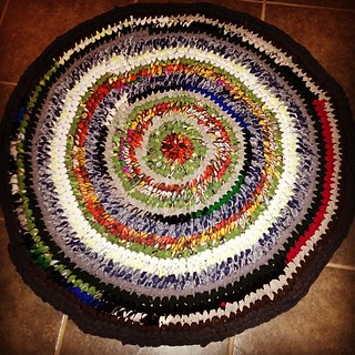 Rug is done.  I am happy.