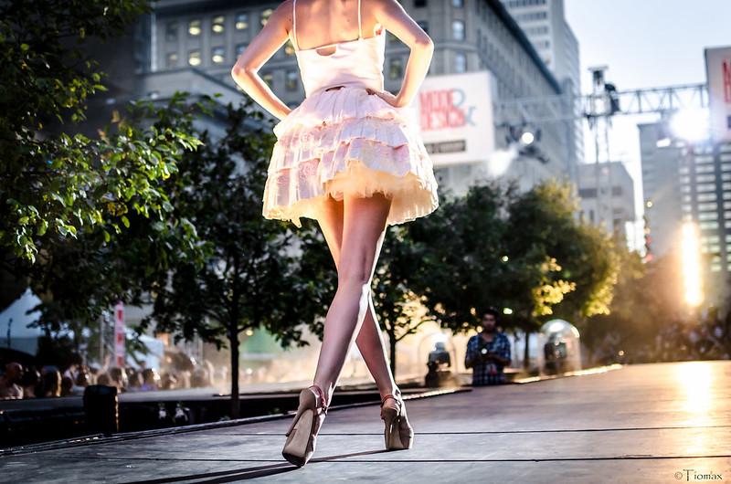 Catwalk model.