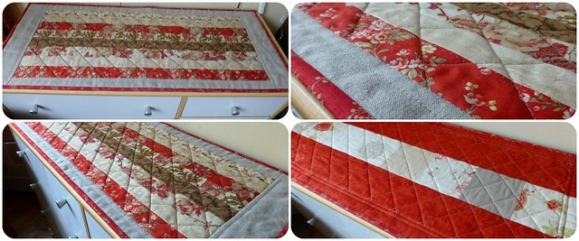 French General & Linen Table Runner Dec12