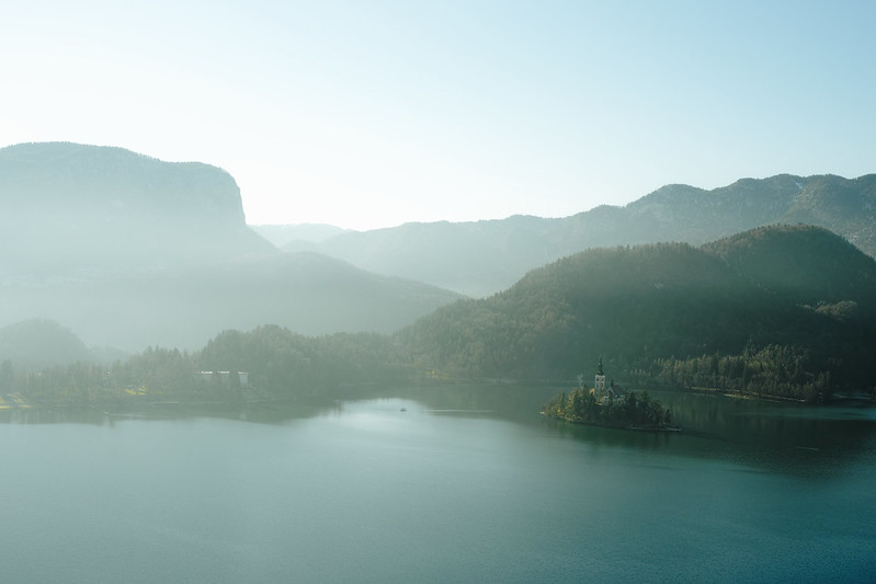 Morning, Lake Bled.