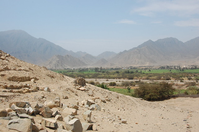 View of the Valley from Caral
