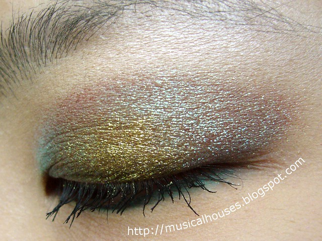 colour shifting eye look mufe holodiam 2