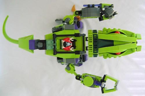 Afficher le sujet review 9455 mecha fangpyre - Lego ninjago le grand devoreur ...