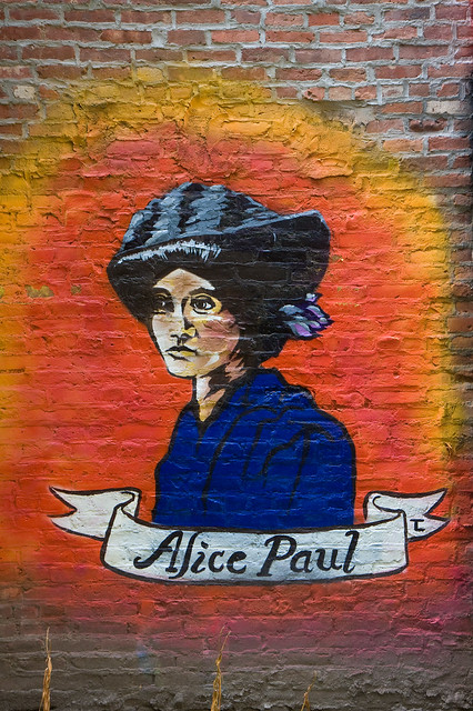 Alice Paul, Lower East Side Girls Club Garden