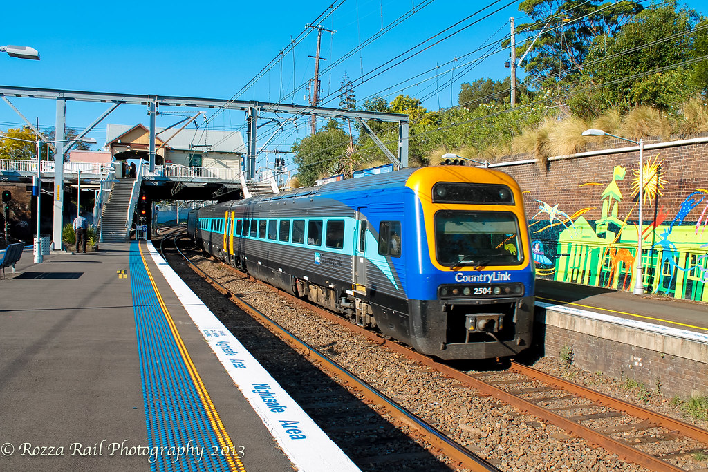 Empty CountryLink Xplorer @ Erskineville by Roy