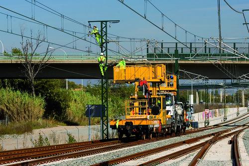 COMSA, con la seguridad laboral en las infraestructuras ferroviarias