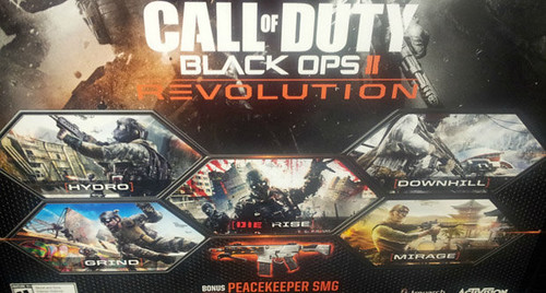 "Black Ops 2 ""Revolution DLC"" Appears On Official Site"