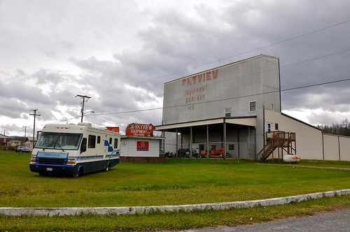 Old Drive In Movie Theater Marion VA