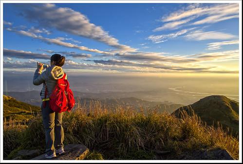 china sunset cloud horizon tourist 夕陽 taipei 台北 陽明山 日落 yangmingshan 七星山