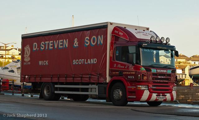 D. Steven & Son Scania P 230 4x2